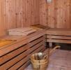 Sauna au rez-de-chaussée